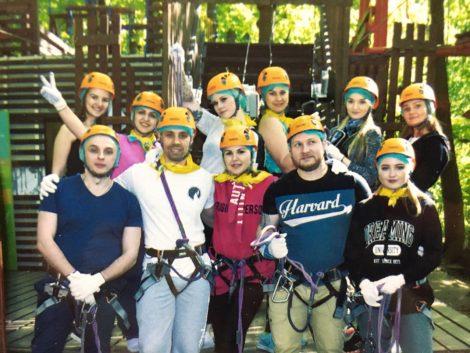 Провели тимбилдинг на 25 метровой высоте - картинка teambilding-03-1-470x353