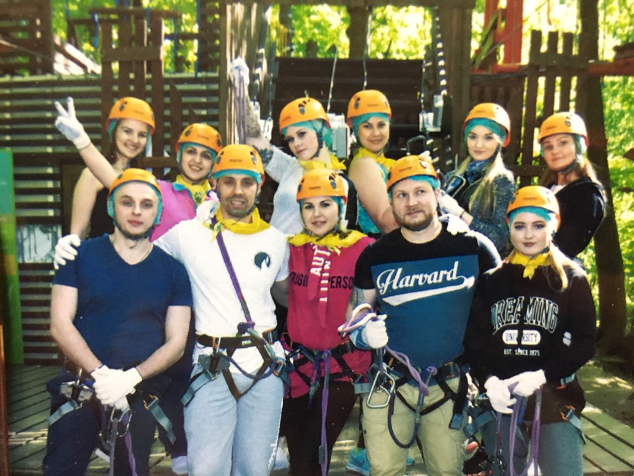 Провели тимбилдинг на 25 метровой высоте - картинка teambilding-03-1