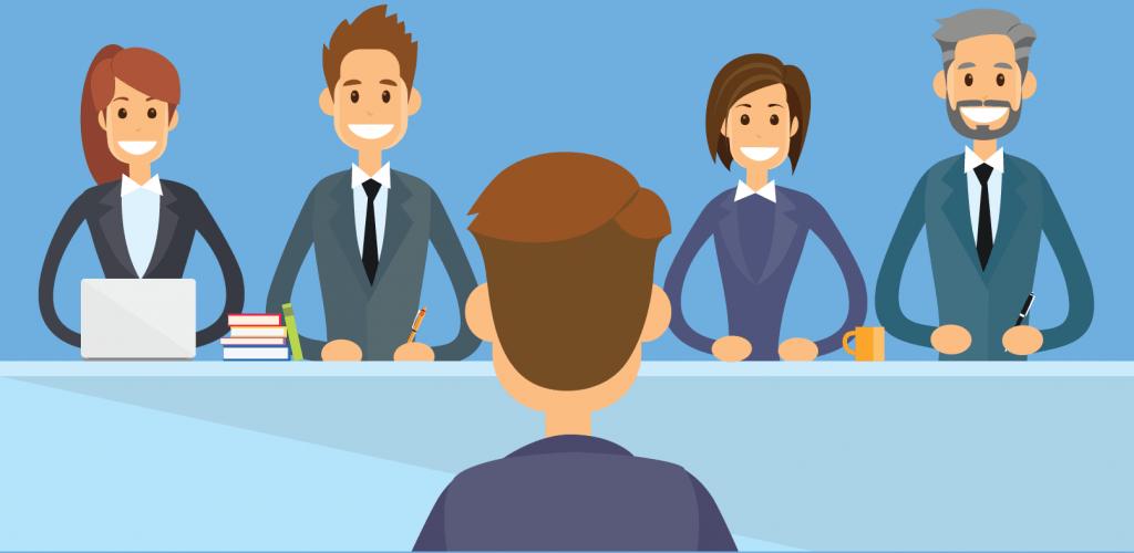 Вопрос кандидатам про увольнения с работы - картинка panel-interview-1024x500